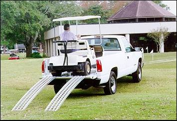 Golf Cart Ramp